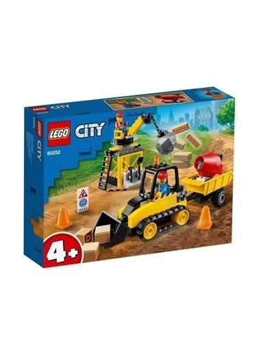 Lego 60252 Lego® City Inşaat Buldozeri / 126 Parça / +4 Yaş Renkli